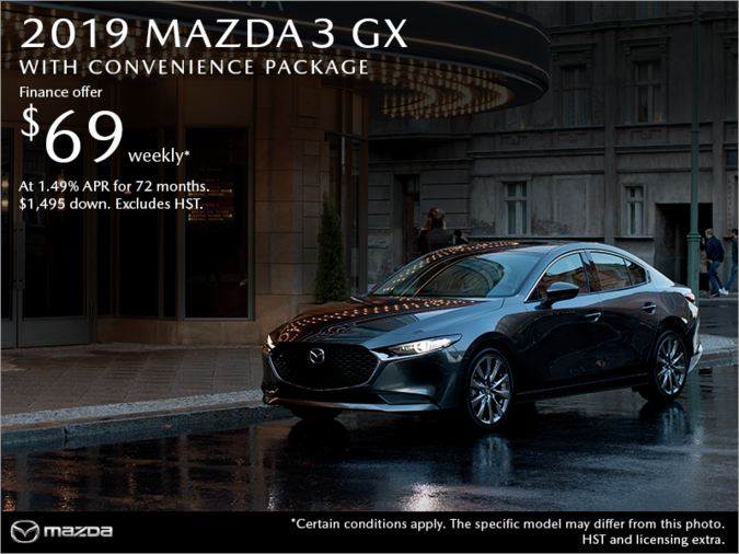 Chatham Mazda - Get the 2019 Mazda3 Today!