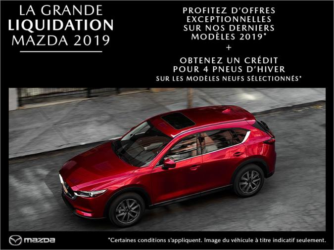 Duval Mazda - La grande liquidation Mazda 2019