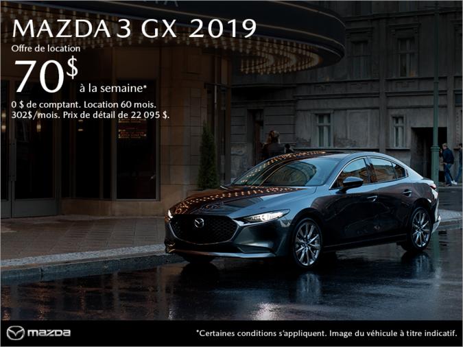 Prestige Mazda - Procurez-vous la Mazda3 2019!
