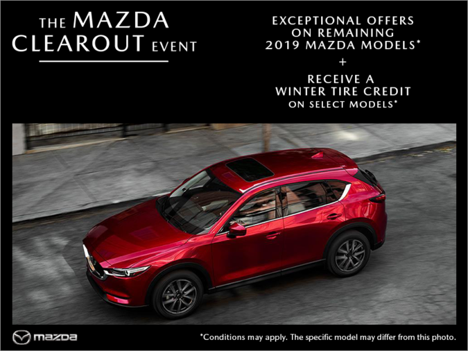 Mazda Des Sources - The Mazda Clearout Event