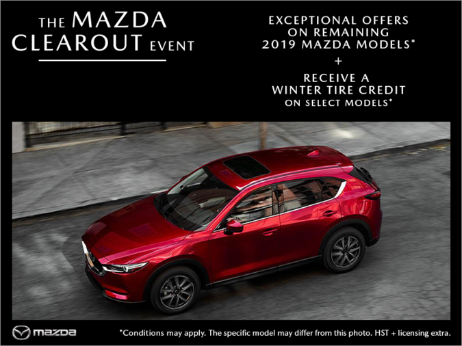 St. Catharines Mazda - The Mazda Clearout Event
