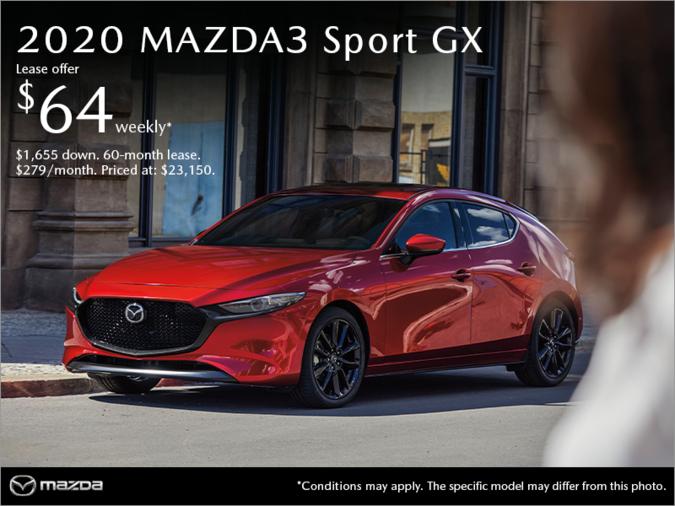 Sept Iles Mazda Get The 2020 Mazda3 Sport