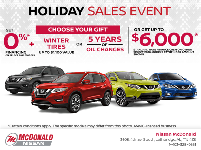 Nissan's Holiday Sales Event!