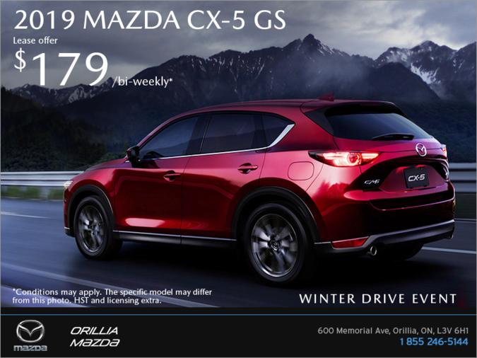 Orillia Mazda - Get the 2019 Mazda CX-5 Today!