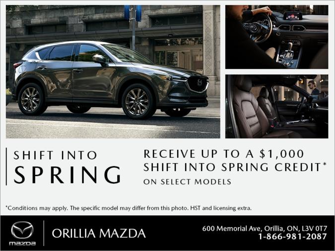 Orillia Mazda - Shift into Spring