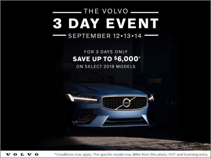The Volvo 3 Day Event