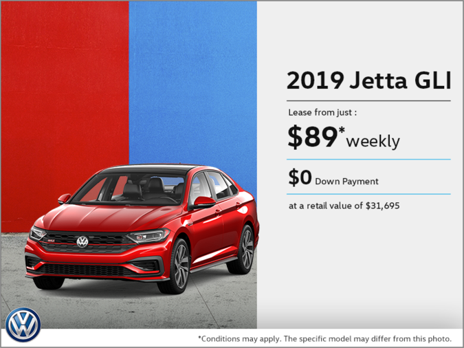 Get the 2019 Jetta GLI