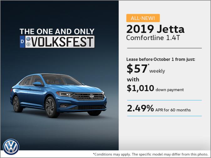 Get the 2019 Jetta!