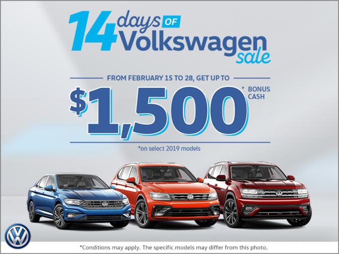 The 14 Days of Volkswagen Sale!