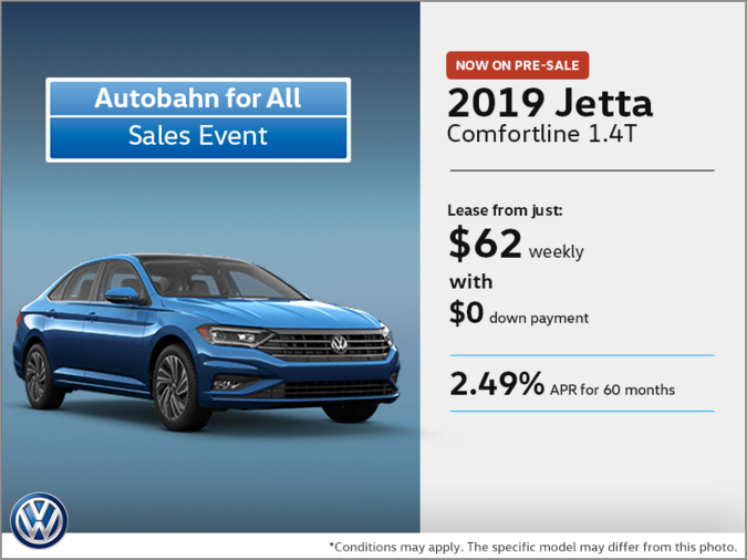 Get the 2019 Jetta on Pre-sale!