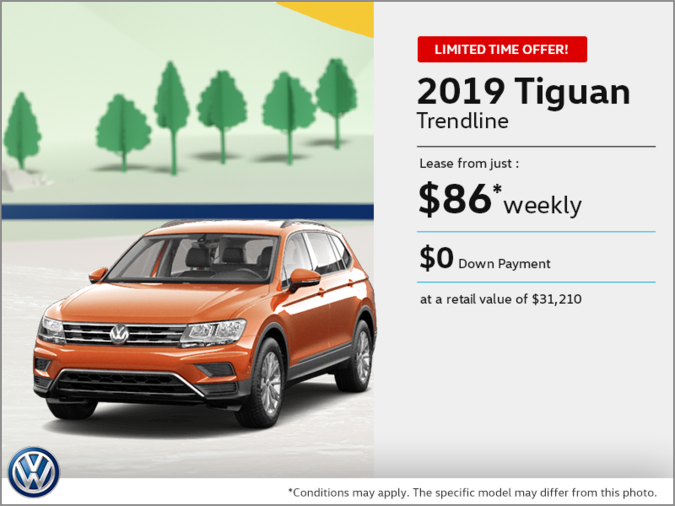 Lease the 2019 Tiguan!