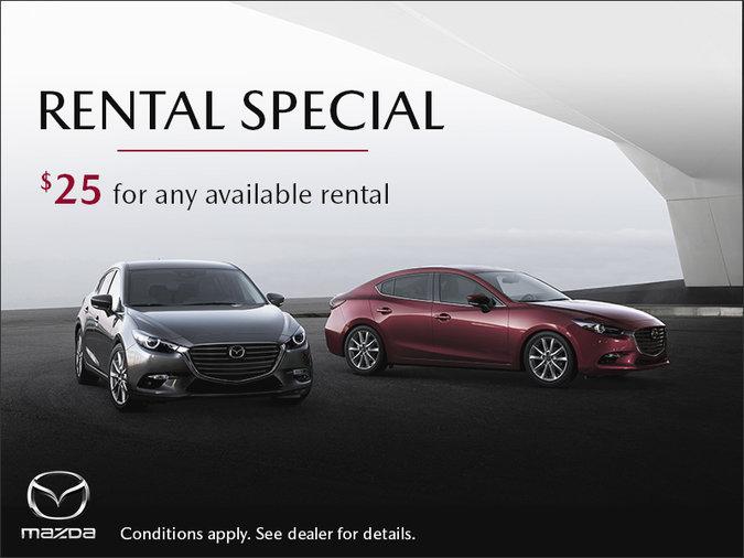 Gerry Gordon's Mazda - Rental Special