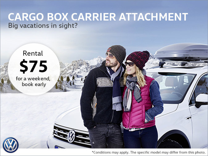 Rent a Cargo Box Carrier Attachment