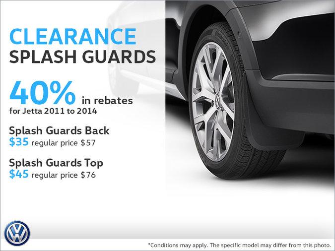Save on Splash Guards