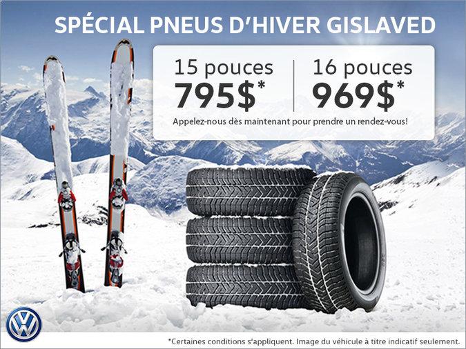 Spécial pneus d'hiver Gislaved
