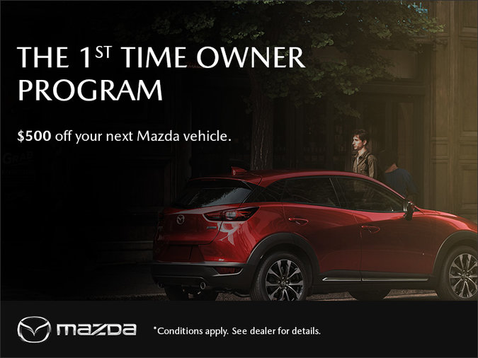 Mazda 1st Time Owner Program