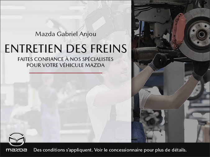 Mazda Gabriel Anjou - Entretien des freins