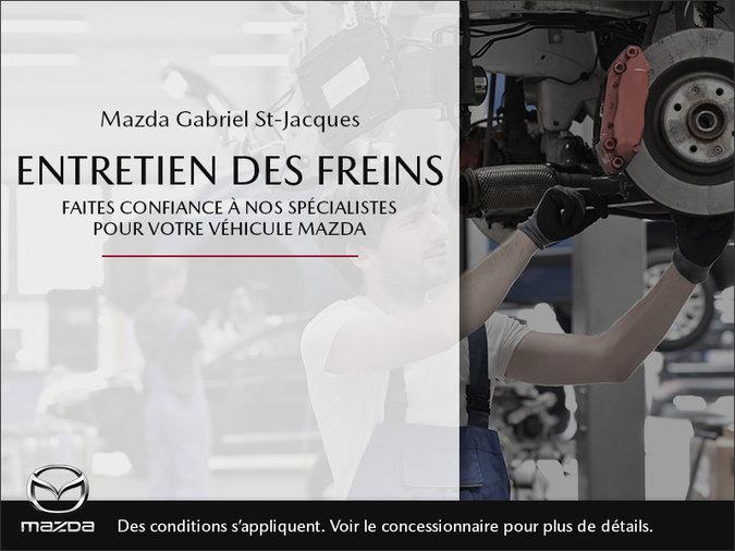 Mazda Gabriel St-Jacques - Entretien des freins