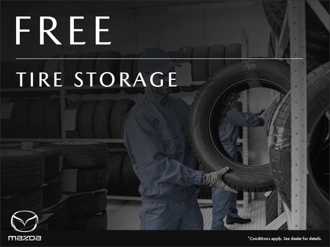 Mazda Pointe-aux-Trembles - Tire Storage