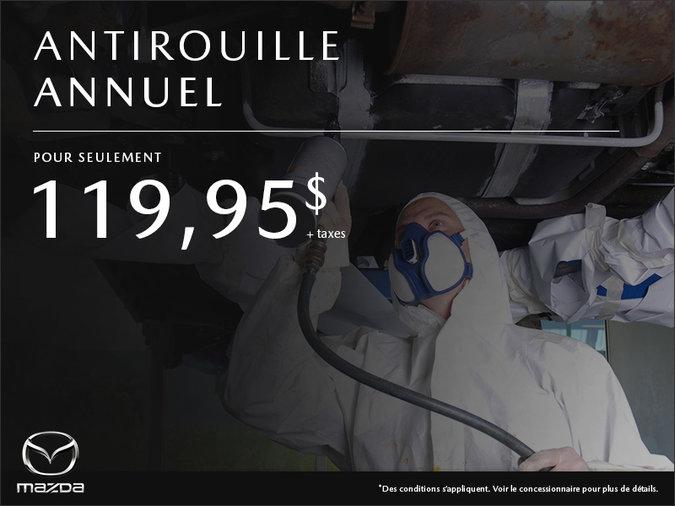 Mazda Pointe-aux-Trembles - Antirouille annuel