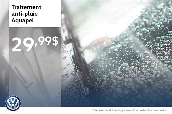 Traitement Aquapel à 29,99$