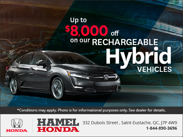 Save on Our Hybrid Vehicles