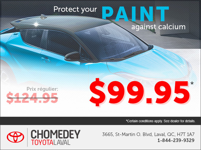 Protect Your Paint Against Calcium