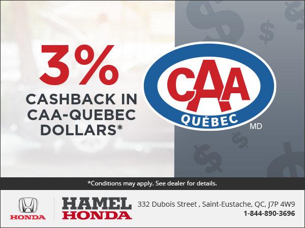 CAA Quebec Offer