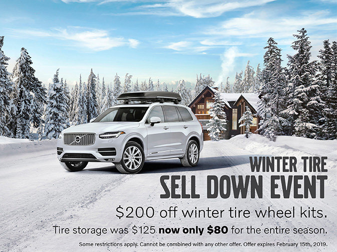 Winter Tires Sell Down Event!