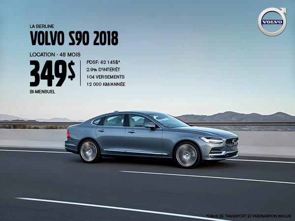 Rabais Volvo S90 - Août 2019