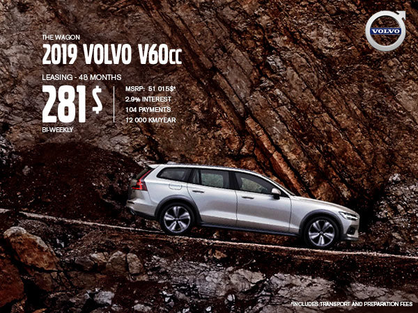 Volvo V60 Cross Country Promotion - July 2019