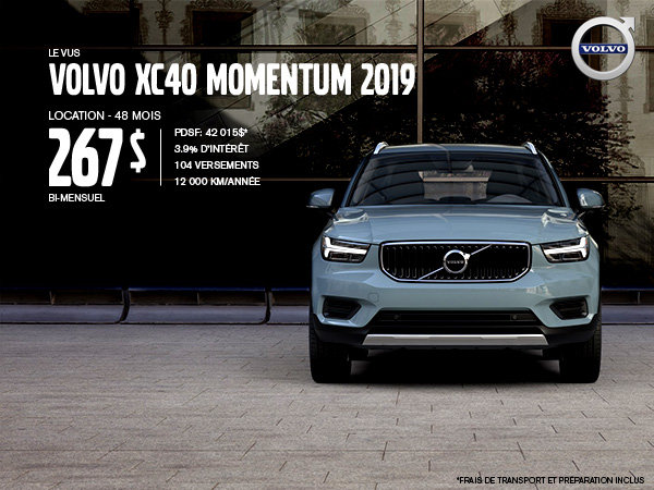 Volvo XC40 Promotion - May 2019