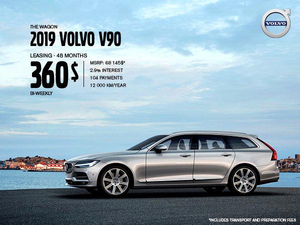 Volvo V90 Promotion - September 2019