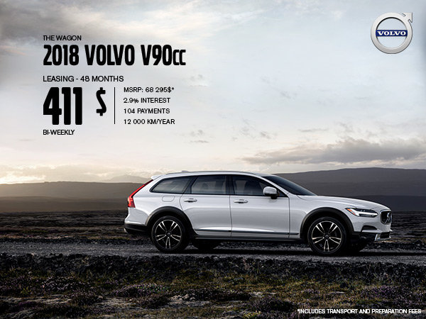 Volvo V90 Cross Country Promotion - July 2019