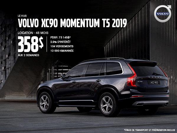 Rabais Volvo XC90 - Juillet 2019