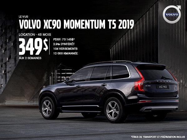 Rabais Volvo XC90 - Août 2019
