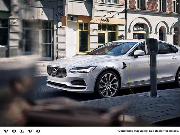 Volvo S90 hybrid promotion