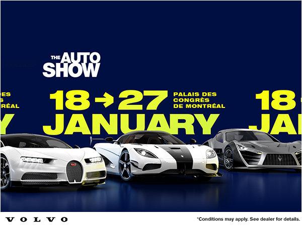 2019 Montreal Auto Show Rebate John Scotti Volvo