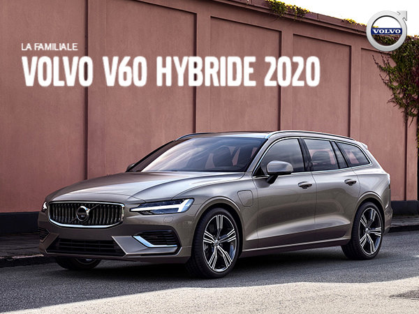 Rabais Volvo V60 hybride - Septembre 2019