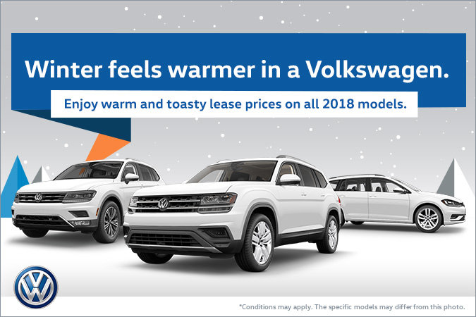 Winter feels warmer in a Volkswagen