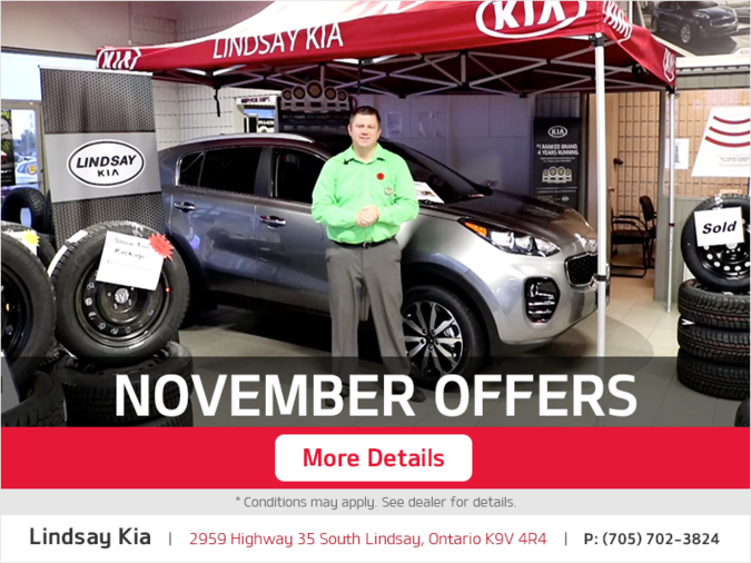 Kia Offer for November