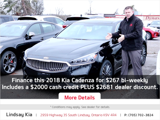 Kia Cadenza Offer