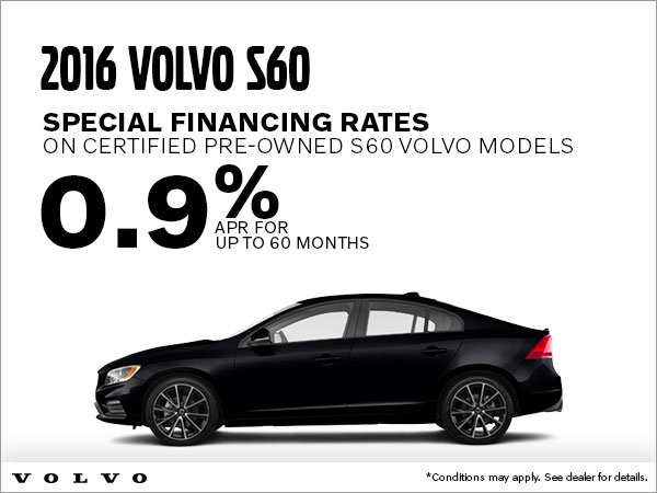 2016 Volvo S60 Special Rates
