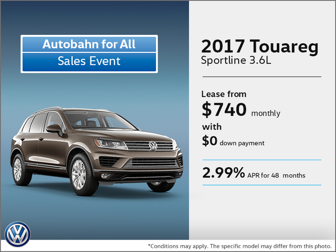 Get the 2017 Touareg Today!