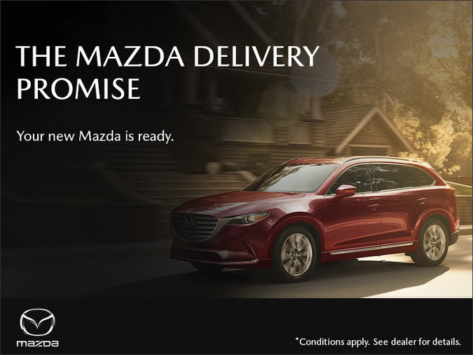 St. Catharines Mazda - The Mazda Delivery Promise