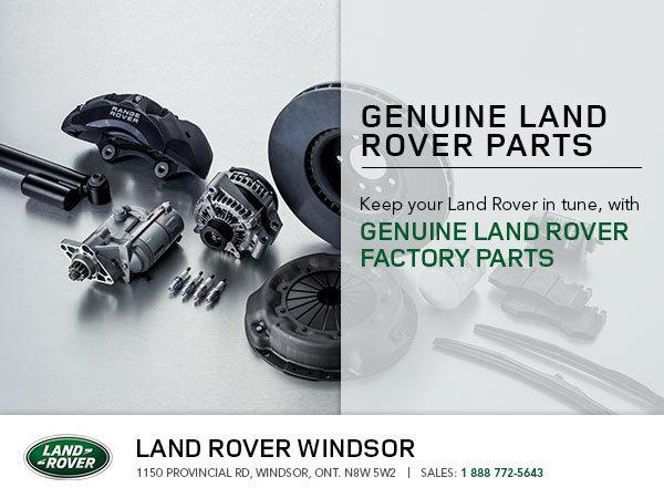 Land Rover Genuine Parts