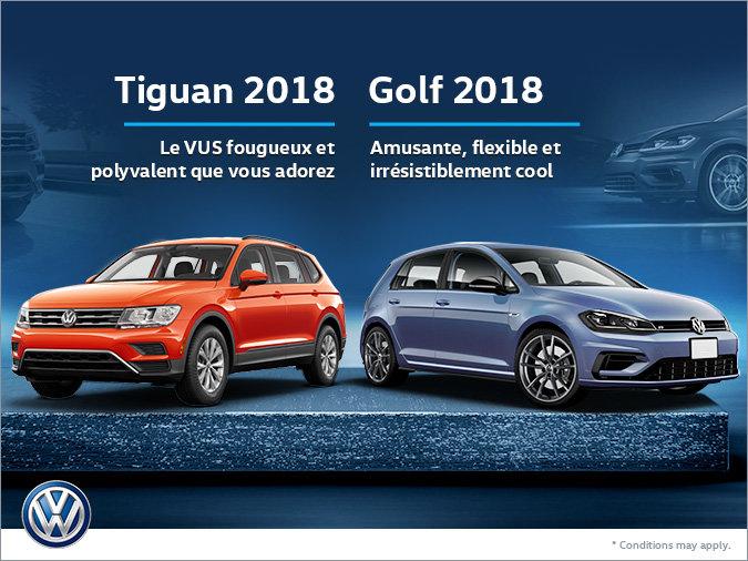 Tiguan 2018 / Golf 2018