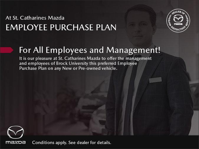 St. Catharines Mazda - Employee Purchase Plan