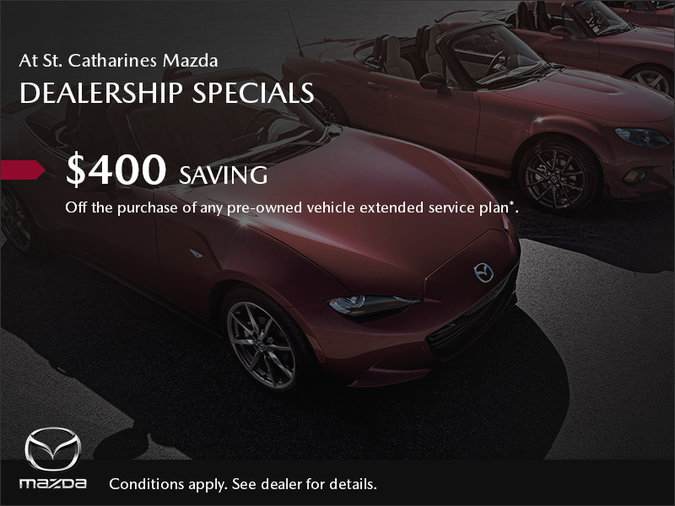 St. Catharines Mazda - Dealership Specials
