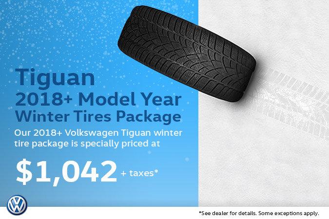 Winter Tire Special - Volkswagen 2018+ Tiguan Package